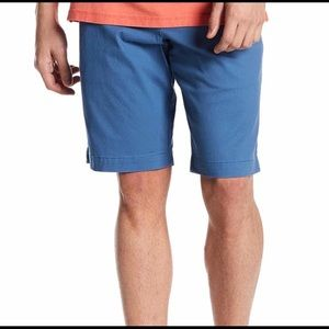 TOMMY BAHAMA SZ 38 FESTIVAL TIME SOLID SHORTS BLUE